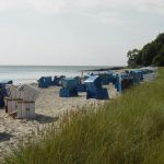 Strandkoerbe in Thiessow
